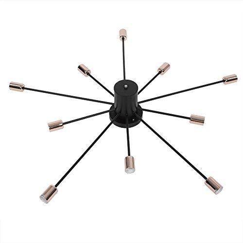 10in 1E27Base LED Deckenleuchte Lampe Fassung Splitter Extender Konverter Halterung Kronleuchter Beschläge Zubehör für Foto Studio Home Building Party Premium-foto-studio