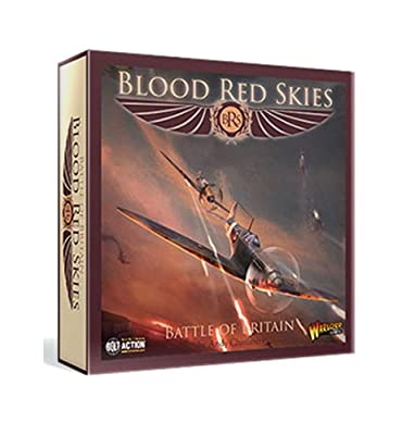 Bolt Action Warlord Games, Blood Red Skies - Battle of Britain - Air Combat Game