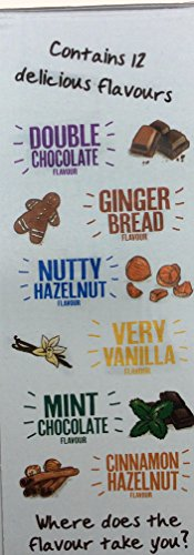 2 x 12 x Flavoured Coffee sachet/stick variety pack – Beanies