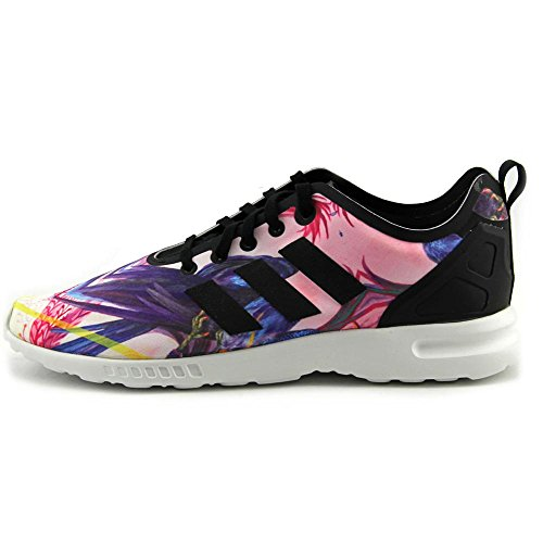 Adidas ZX Flux Smooth Tessile Scarpe ginnastica Multicolor