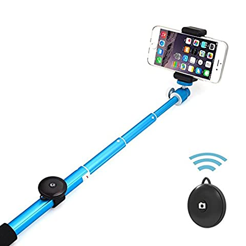 Sans fil Selfie bâton, 6amlifestyle Monopode avec déclencheur à distance