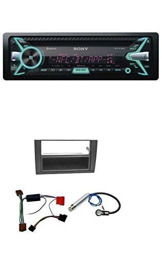 Preisvergleich Produktbild Sony MEX-N5100BT CD MP3 USB Bluetooth AUX Autoradio für Audi A4 B6 B7 2001-2008 Symphony Aktivsystem Mini-ISO