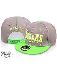 "Midi Shopping - Casquette Snapback Pas Cher Cap Hat Flatbrim ""Dallas"" CAP 31DAL"