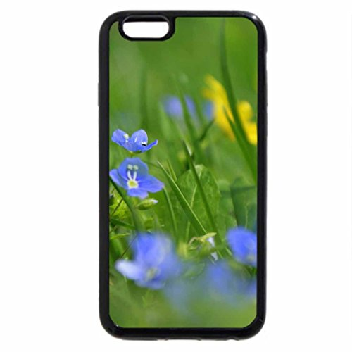 iPhone 6S / iPhone 6 Case (Black) Springtime in the Meadow