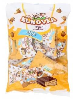 """Russische Pralinen - Korovka """"Waffelschnitten"""" mit Milchgeschmack 250g"""
