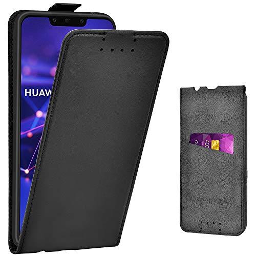 Adicase Handyhülle für Huawei Mate 20 Lite Hülle, Leder Tasche für Huawei Mate 20 Lite