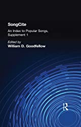 SongCite: An Index to Poular Songs, Supplement 1