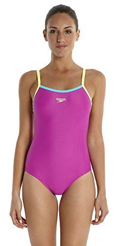 speedo-womens-thin-strap-muscle-back-swimsuit-diva-fluorescent-yellow-bali-blue-size-38