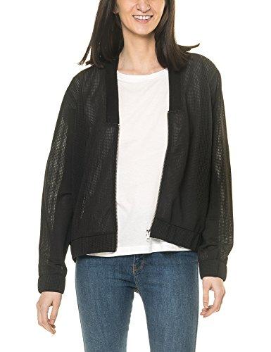 dr-denim-jeansmakers-womens-nova-womens-black-jacket-in-size-l-black