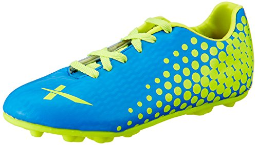 Vector X Volt Football Shoes, Size 9 (Blue/Green)