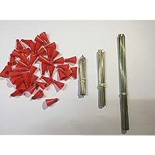 3-different-length METAL NEEDLE DARTS FUEL 45PCS(15S+15M+15L) FUEL DART FOR BLOWGUN .50 CALIBER