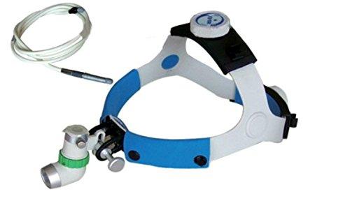 Chirurgisch medizinische Kopflampe Stirnlampe Lichtwellenleiter Headlight Headlamp 2 Meter (Stirnband Medizinische)