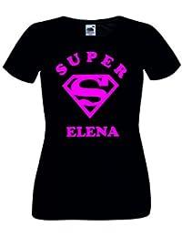 Camisetas divertidas Parent Super Elena - para Mujer Camiseta 0fe4da8a8d8f2