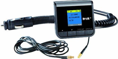 Imperial DABMAN 60 plus - Radio digitale per auto, trasmettitore FM incluso (DAB+/DAB), colore: Nero - Nero Radio Dab
