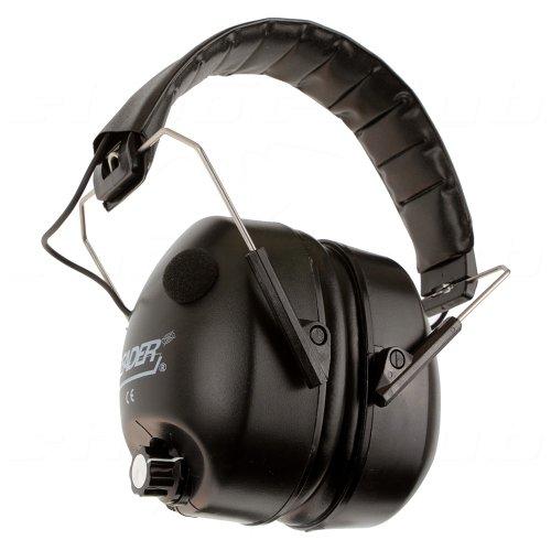 Gehörschutz Leader NHP-602E elektronisch (29-00008), schwarz für Jagd und Schießsport