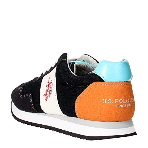 NATTSCANVASGRE U.S. Polo Assn. Sneakers Uomo Tessuto Verde Blu