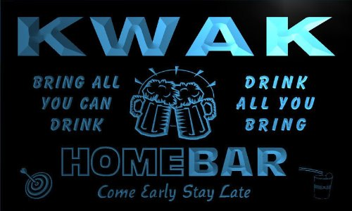 q24834-b-kwak-family-name-home-bar-beer-mug-cheers-neon-light-sign