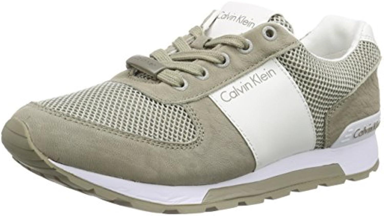 Calvin Klein Jeans Dusty Mesh/Washed Nubuck/Smoot Herren Sneakers