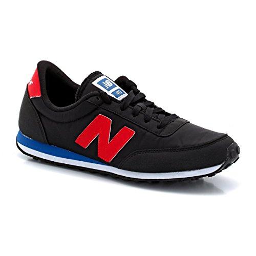 New Balance U410 D, Baskets mode mixte adulte Noir (Brb Black)