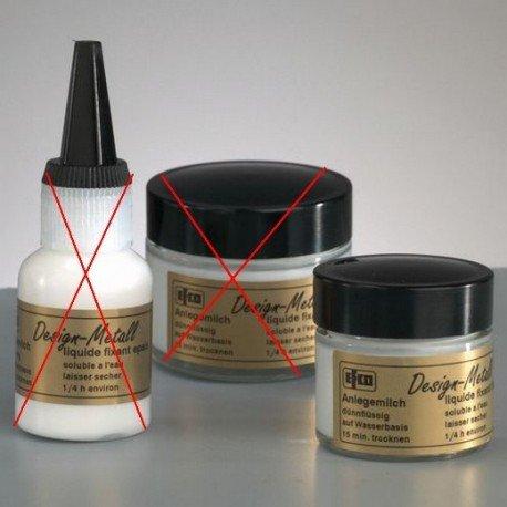 Emulsion de colle fluide, 20 ml, pour feuille d'or, d'argent,