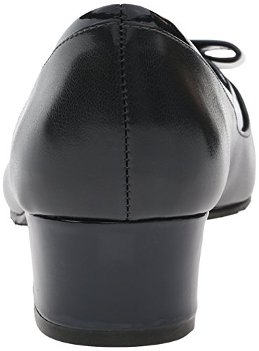 Stile Soft di Hush Puppies pompa Santel Dress Navy Elegance Polyurethane/Patent Polyurethane