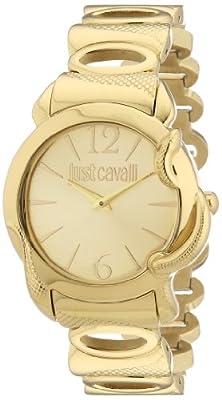 Reloj Just Cavalli R7253576501 para mujer de acero inoxidable recubierto oro de Just Cavalli