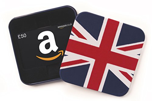 Amazon.co.uk Gift Card - In a Gift Tin - £50 (Union Jack)