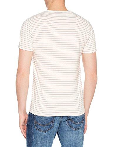 Scotch & Soda Herren T-Shirt Classic Crewneck Jersey Tee Mehrfarbig (Combo F 0222)