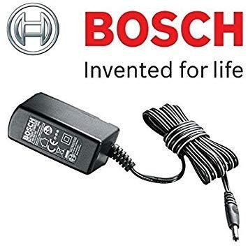 Bosch Original Ersatz-Akkuladegerät, mit britischem 3-Pol-Stecker, passend für Bosch CISO Schere / XEO Universalschneider, Bosch Produktnummer 2607225247
