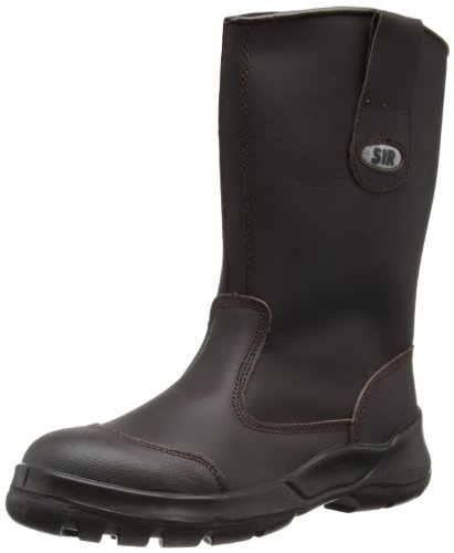 SIR Safety - Stivali Infinity Boot, Unisex adulto, marrone scuro (marrón), 45.5