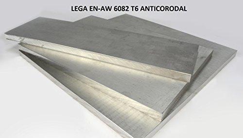 Barra piatta in alluminio SPESSORE 10 mm, con VARIE LARGHEZZE E LUNGHEZZE, lega 6082 ANTICORODAL(VISITATE IL NOSTRO NEGOZIO SONO PRESENTI ALTRI FORMATI) (80x10x500mm)
