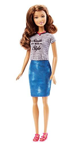 Barbie Fashionistas Barbie Doll, Tropical Print Dress