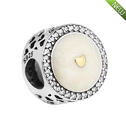 PANDOCCI 2017 Mutter Tages Sammlung DIY Pandora-Armbänder Passend für authentische 925 Sterling Silber Herz Charm Limited Edition kostbaren Schmuck
