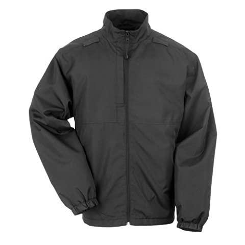 5.11 Tactical #48052 Lined Packable Jacket (Black, 3X-Large)