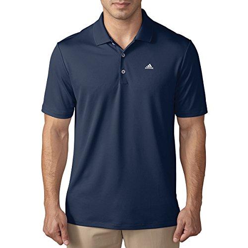Adidas performance LC T-Shirt Polo à manches courtes de Golf, homme XS bleu foncé
