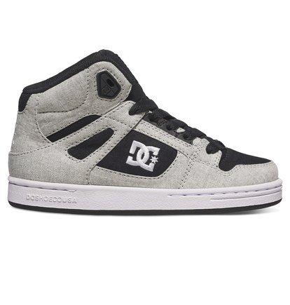 Kinder Sneaker DC Rebound TX SE Sneakers Boys Schwarz/Weiß/Schwarz