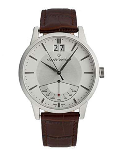 Claude Bernard by Edox Classic Retrograde Men's Watch 41001.3.AIN Swiss
