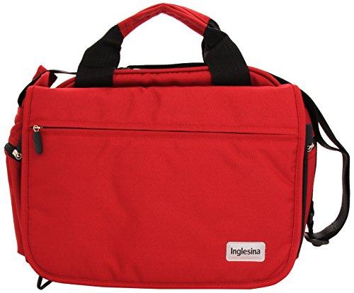 Preisvergleich Produktbild Inglesina AX90D0RED Elegante Tasche auch Wickeltasche Großzügige Innenausstattung Passend zu Sportwagen Trilogy
