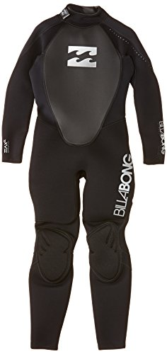 Billabong INTRUDER STEAMER 32 WETSUIT BOY 302 Garçon Black FR: XL (Taille Fabricant: 16)