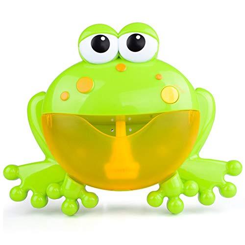YL-Light Bubble Machine Cute Funny Frog Form Musik Bubble Maker Machine Blower Spielzeug für Kinder Kinder Baby Duschen