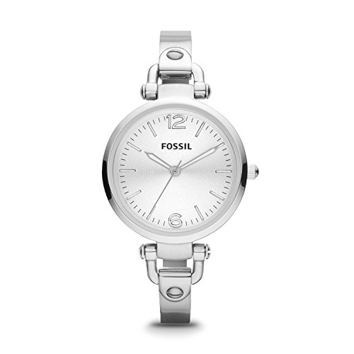 Fossil Damen Armbanduhr Analog Quarz Edelstahl ES3083