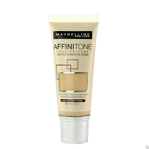 Maybelline Affinitone Unifying Foundation Cream (09 Opal Rose) 30ml