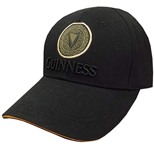 Guinness Official Merchandise Herren Baseball Cap Schwarz Schwarz Einheitsgröße Guinness Baseball