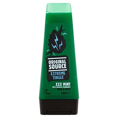Ursprüngliche Quelle Mens XXX Mint Hair & Body Shower Gel 250 ml