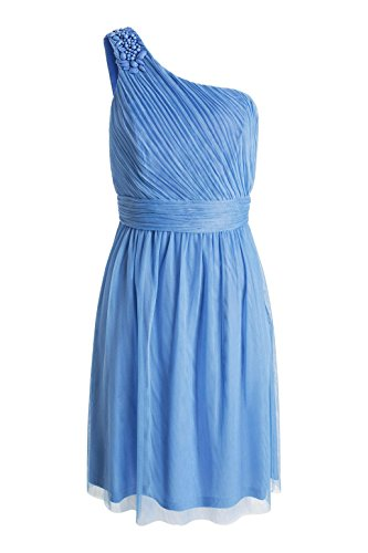 ESPRIT Collection Damen Kleid Blau (BLUE LAVENDER 425)