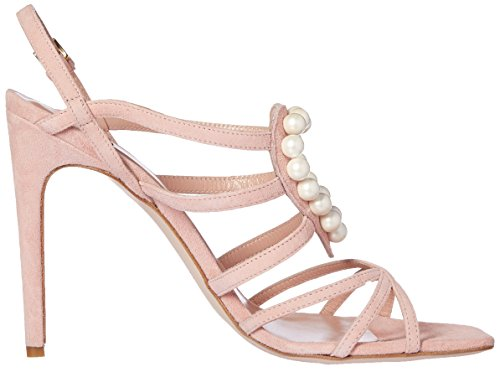 Boutique Moschino 6310 8006 None, Sandales  Bout ouvert femme Rose
