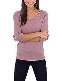 Esprit 086ee1k005, T-Shirt à Manches Longues Femme