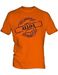 Made In Alloa - Mens T-Shirt T Shirt Tee Top