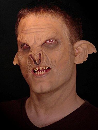 CREATIVE ProthesenAbzieher-Face Maske für - Sauron Maske Kostüm