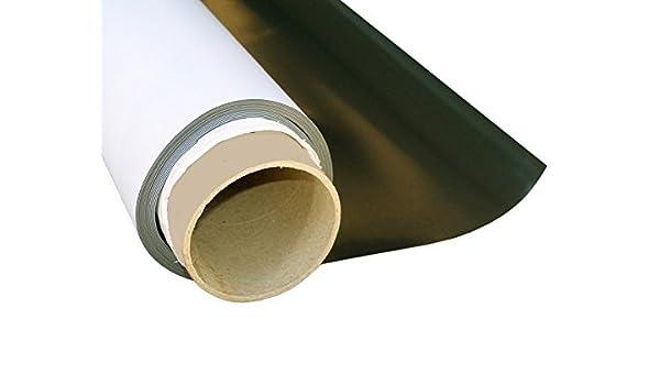 Magnetfolie weiß matt beschichtet 2mm x 100cm x 100cm Meterware